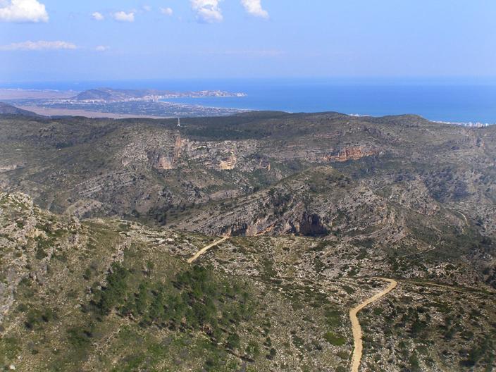 Territorio bajo el que se sitúa Bolomor.
